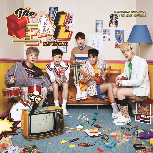 [N.Flying] N.Flying 2nd MINI ALBUM [THE REAL: N.Flying]