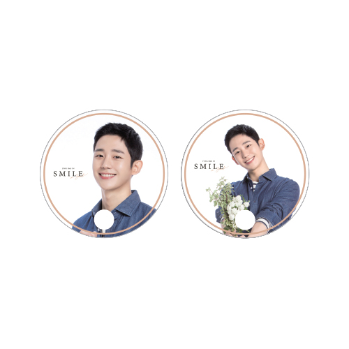 [정해인] SMILE CLEAR FAN (A/B ver.)