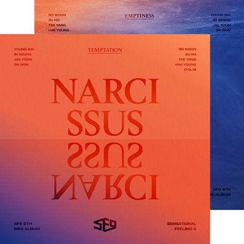 [SF9] SF9 6TH MNI ALBUM [NARCISSUS] (단품/세트)