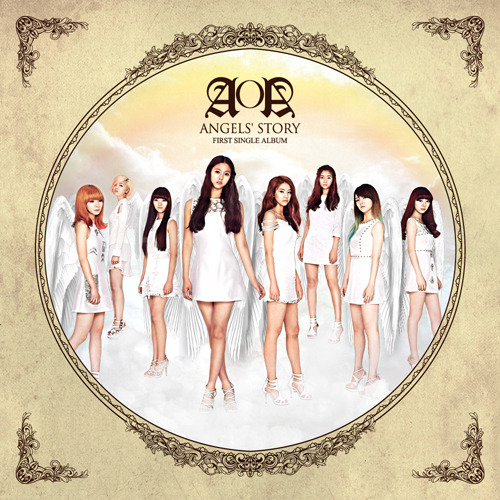 "[AOA] AOA 1st Single ALBUM ""Angels' Story"""