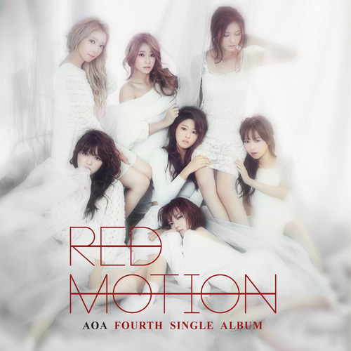 [AOA] AOA 4TH SINGLE ALBUM [RED MOTION]