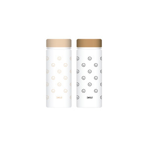 [정해인] SMILE BOTTLE (BEIGE / BLACK)