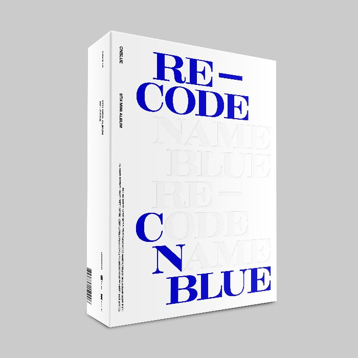 CNBLUE 8TH MINI ALBUM 'RE-CODE' Standard ver.